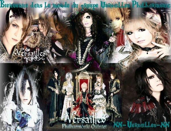 Bienvenue dans le monde de Versailles Philharmonic Quintet <3