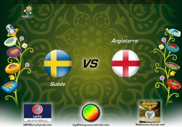UEFAEuro - UEFA Euro 2012 Suède - Angleterre En partanariat avec SLBglorioso