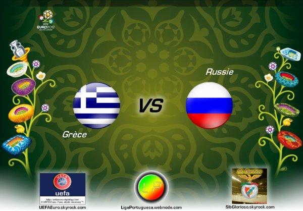 UEFAEuro - UEFA Euro 2012 Grèce - Russie En partanariat avec SLBglorioso