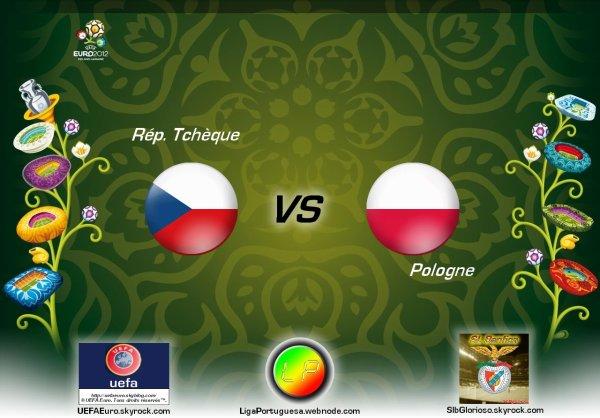 UEFAEuro - UEFA Euro 2012 Rép. Tchèque - Pologne En partanariat avec SLBglorioso