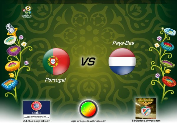 UEFAEuro - UEFA Euro 2012 Portugal - Pays-Bas En partanariat avec SLBglorioso