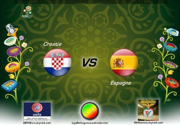 UEFAEuro - UEFA Euro 2012 Croatie - Espagne En partanariat avec SLBglorioso