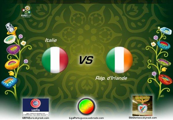 UEFAEuro - UEFA Euro 2012 Italie - Rép. d'Irlande En partanariat avec SLBglorioso