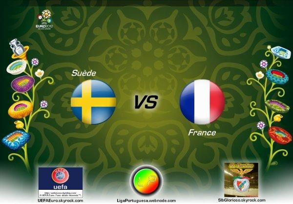 UEFAEuro - UEFA Euro 2012 Suède - France En partanariat avec SLBglorioso