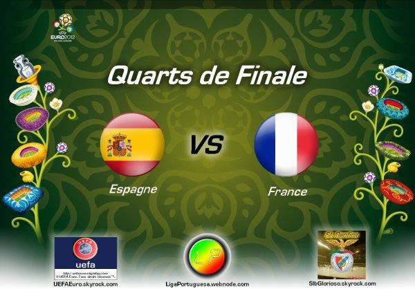 UEFAEuro - UEFA Euro 2012 Quarts de finale Espagne - France En partanariat avec SLBglorioso