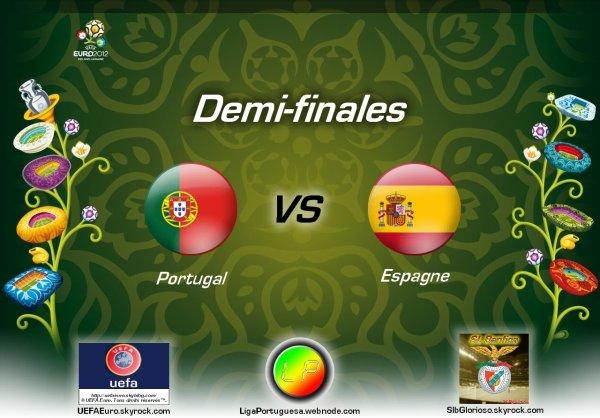 UEFAEuro - UEFA Euro 2012 Demi-finales Portugal - Espagne En partanariat avec SLBglorioso