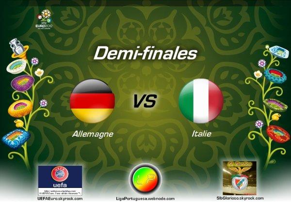 UEFAEuro - UEFA Euro 2012 Demi-finales Allemagne - Italie En partanariat avec SLBglorioso