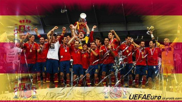 UEFAEuro - UEFA Euro 2012 Espagne Championne de l'UEFA EURO 2012 En partanariat avec SLBglorioso