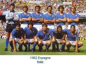 1982 coupe du monde equipe d 39 italie de 1910 nos jour - Coupe du monde de foot 1982 ...