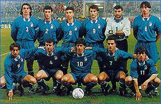 Equipe d 39 italie football 1998 - Coupe du monde de foot 1998 ...
