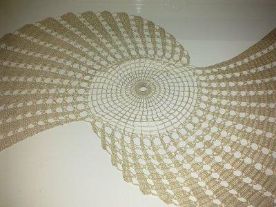 napperon h lice que ma ni ce a re u le crochet d 39 or. Black Bedroom Furniture Sets. Home Design Ideas