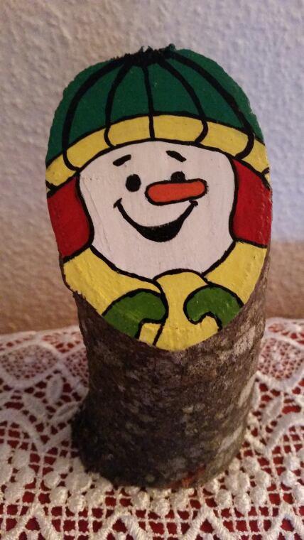Voici mes petits bonshommes d'hiver, fabrication de Moo Moo-Cow  !