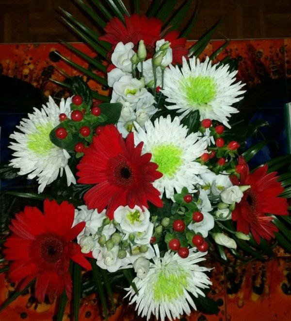 Mon bouquet de la St-Valentin