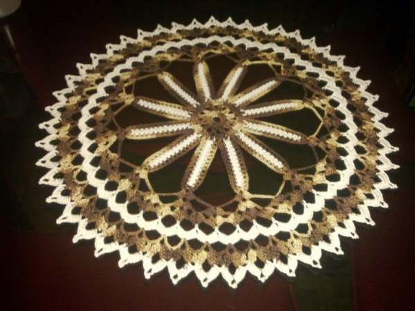 Napperon roue