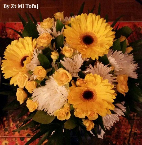 Mon bouquet pour la fête des mères de mes 3 amours...