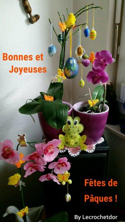Bonnes et Joyeuses Fêtes de Pâques