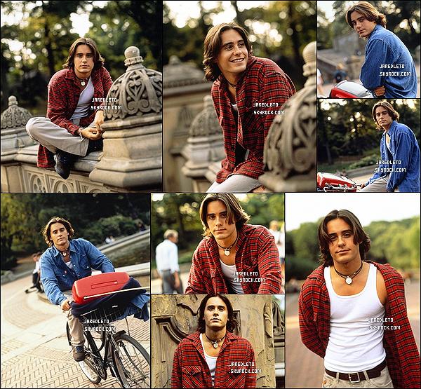 PHOTOSHOOT :   Découvre un photoshoot de Jared datant de 1994 - il avait 23 ans !