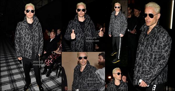 """. 6/03/2015: Jared comme de nombreuses stars était à la """"Fashion Week"""" qui s'est déroulée à Paris en France   Jared Leto  - s'est également rendu dans la même journée ce 6 Mars 2015 à la Galerie d'Art Perrotin également à Paris en France."""