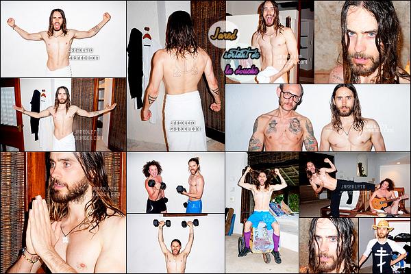 .  Découvre un « Photoshoot » de Jared pour Terry Richardson datant de 2014  .