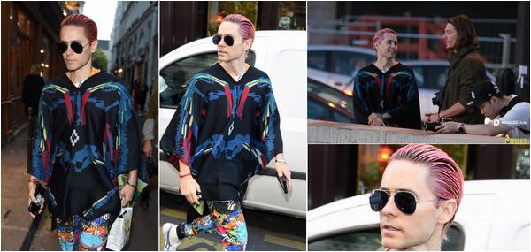 08/10/2015 : Jared Leto a été aperçu dans les rues de New York