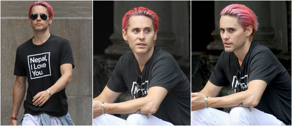 09/10/2015 : Jared Leto a été vu à New York City