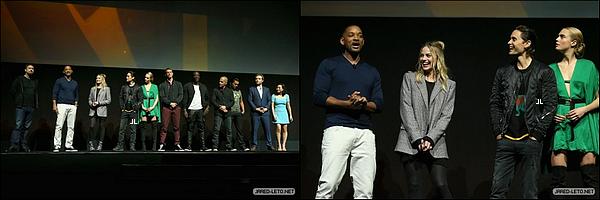 12/04/2016 - Jared était au CinemaCon 2016 qui s'est déroulé à Las Vegas