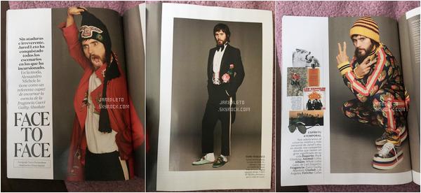 """.  Jared Leto fait la couverture du magazine Vogue """" - Il est magnifique et très élégant je trouve !."""