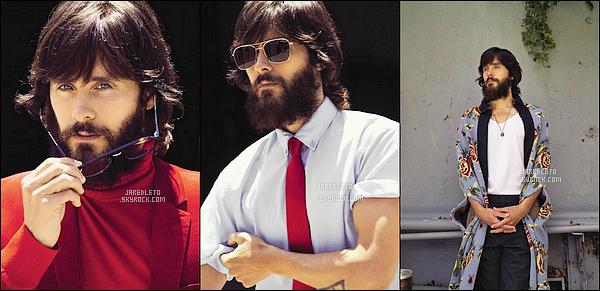 """.  Jared fait la couverture du magazine ES """" -  Découvre le photoshoot , Je n'aime pas trop sa barbe!."""