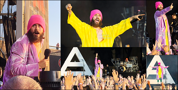 . 10/06/2017 - Jared Leto était en concert avec son groupe 30 Seconds to Mars à Austin au Texas .