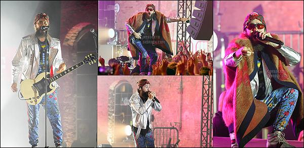 """. 02.09.2017 - Jared Leto et son groupe """"30 Seconds To Mars était de nouveau en concert à Berlin en  Allemagne ."""