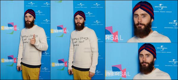 . 06.09.2017 - Jared pose pour des photos durant l'Universal Inside à Mercedes Arena à Berlin en Allemagne.