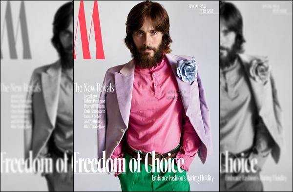 """. Jared Leto fait la couverture du Magazine """"W"""", puis découvre le photoshoot réalisé ."""