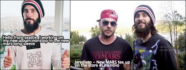 . • INSTAGRAM TIME ─ Découvre les dernières photos instagram de Jared Leto .