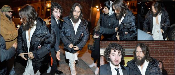 . 26.01.2018  : Jared a été aperçu dans la ville de New York - J'aime son style, ça fait plaisir d'avoir de ses news ! .