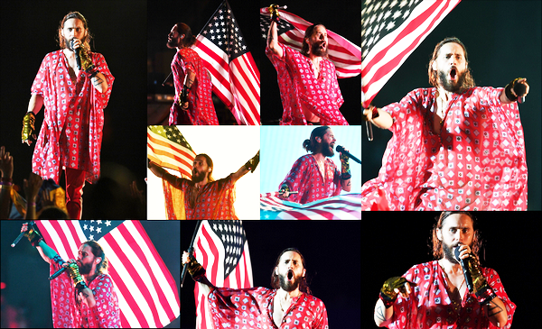 . 29.06.2018 :  Jared Leto, donnait un concert dans le cadre de sa tournée du « Monolith Tour » en Floride   .