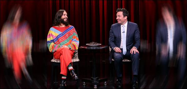 . 18.06.2018 :  Pour cette première sortie du mois de Juin, Jared s'est rendu sur le plateau de Jimmy Fallon   .