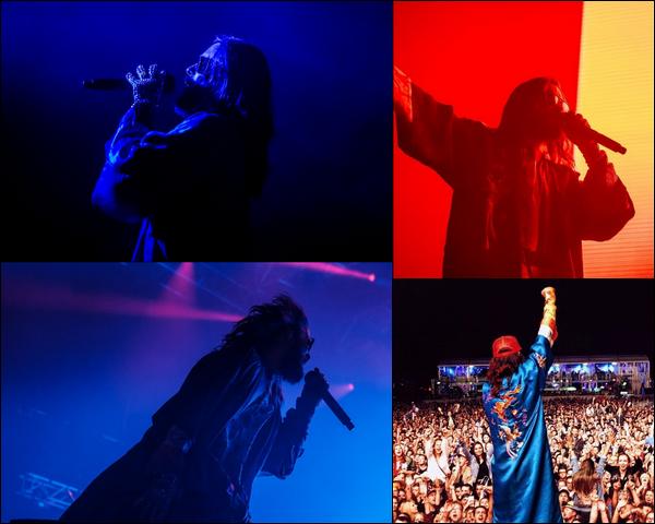 . 17.08.2018 :  Jared Leto a donné un concert à l'Open Air Gampel Festival à Gampel-Bratsch en Suisse  .