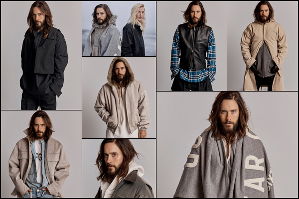 . Jared  a été photographié par Pierre Toussaint pour la collection 2018-2019 de «Fear Of God's »   .