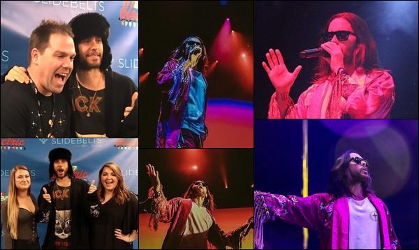 06.12.2018 : Jared Leto  était présent aux  « Electric xmas  »  où il a donné un concert à Sacramento en Californie