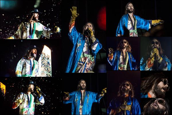 06.10.2018 :  Jared Leto en tournée « Monolith Tour » a donné un concert à Buenos Aires en Argentine