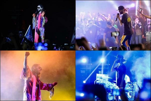 09.10.2018 :  Jared Leto poursuit sa tournée intitulée « Monolith Tour » et a donné un concert au Guatemala