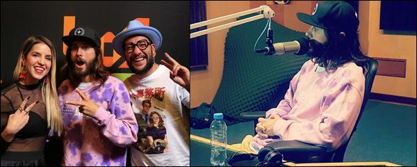 10.10.2018 :  Jared Leto a visité la station de radio « Los 40 México radio station »  à Mexico au Mexique