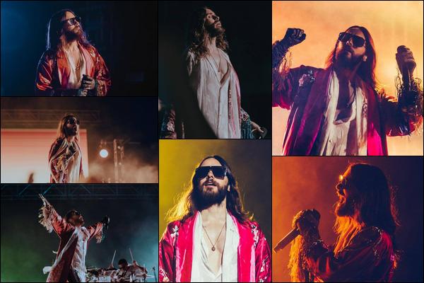 11.10.2018 :  Jared en tournée « Monolith Tour » a donné un concert à l'Arena Ciudad de Mexico au Mexique
