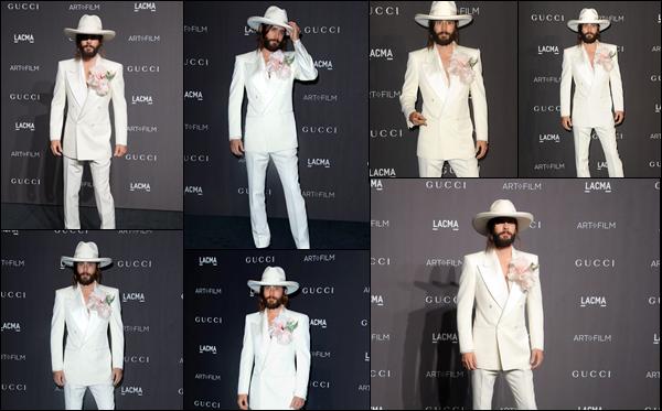 03.11.2018 : Jared Leto  était présent au  « LACMA Art + Film Gala  »  organisé par Gucci à Los Angeles