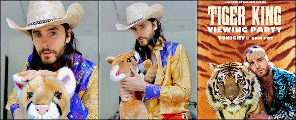 INSTAGRAM TIME :  Etant donné que Jared est confiné voici ces dernières photos instagram