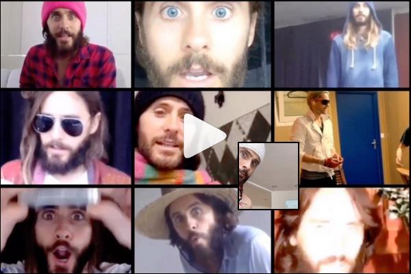 INSTAGRAM TIME :  Découvre les nouvelles photos spéciales confinement de Jared Leto