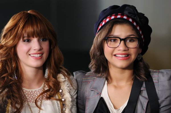 photoshoot de bella et zendaya
