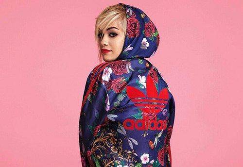 Rita Ora présente sa collection pour Adidas