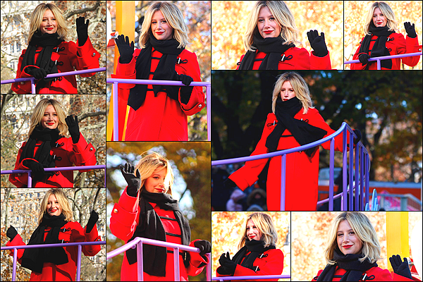 "22.11.2018 : Ashley T. a participé à la parade annuelle de Thanksgiving organisée par « Macy's » - New York CityComme prévu, Miss Tisdale a interprété son nouveau single ""Voices In My Head"". Découvrez sa performance en vidéo - J'adore ! Et vous ?"
