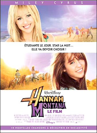 ★ ★ ★ ★ ☆ / Hannah Montana, le film